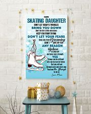 SKATING - DON'T LET TODAY'S TROUBLES POSTER 11x17 Poster lifestyle-holiday-poster-3