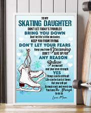 SKATING - DON'T LET TODAY'S TROUBLES POSTER 11x17 Poster lifestyle-poster-4