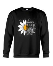 PE TEACHER - I BECAME A POSTER Crewneck Sweatshirt thumbnail