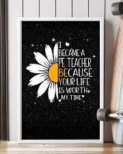 PE TEACHER - I BECAME A POSTER 11x17 Poster lifestyle-poster-4