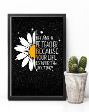 PE TEACHER - I BECAME A POSTER 11x17 Poster lifestyle-poster-8