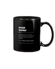SOCIAL WORKER - noun Mug thumbnail