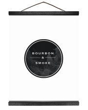 The Bourbon and Smoke Live Show Merch 16x20 Black Hanging Canvas thumbnail