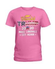 Trump 2020 Make Liberals Cry Again Ladies T-Shirt thumbnail