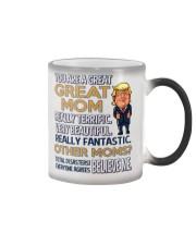Great Mom Mother Trump Color Changing Mug thumbnail