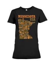 Minnesota Premium Fit Ladies Tee thumbnail