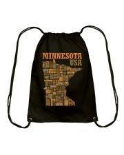 Minnesota Drawstring Bag thumbnail
