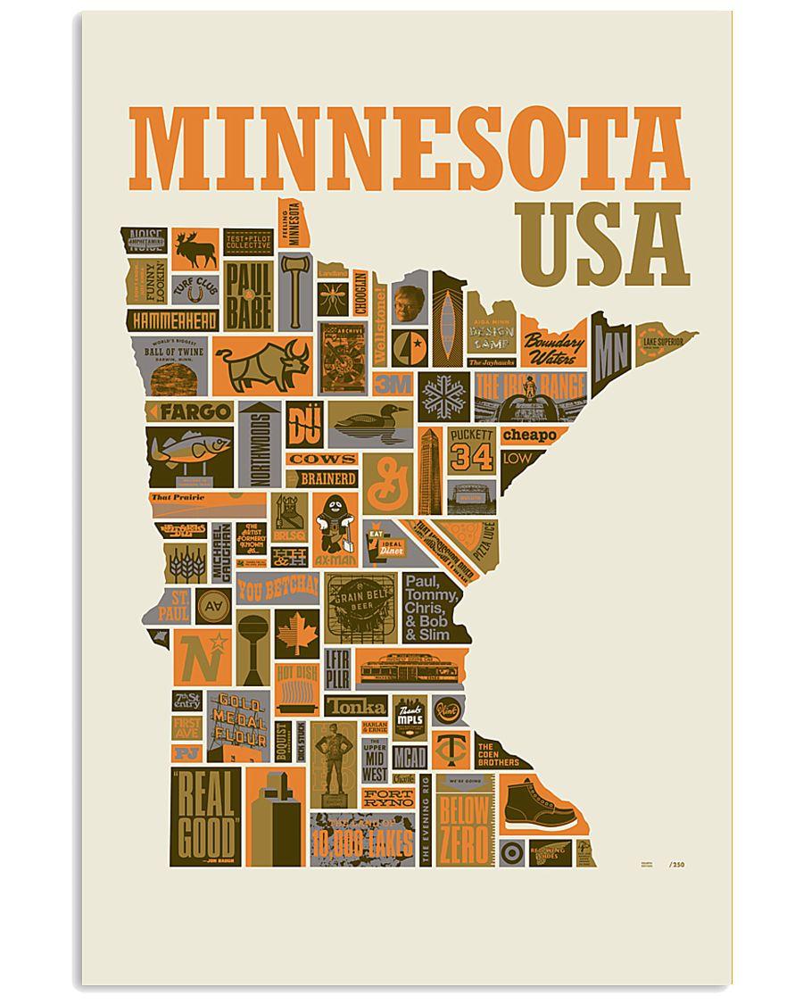 Minnesota 11x17 Poster