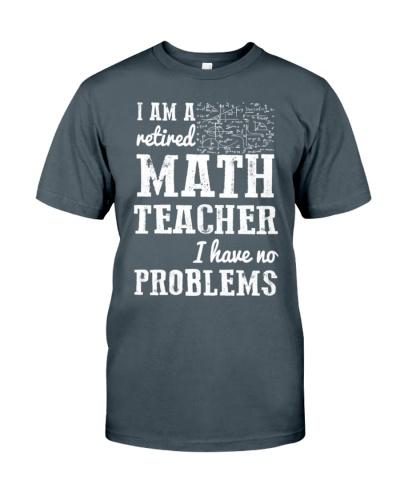 I Am A Retired Math Teacher Have No Problems
