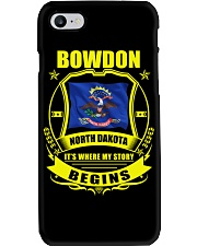 Bowdon-ND my story began with Flag Phone Case thumbnail