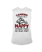 Camping Make Me Happy Sleeveless Tee tile