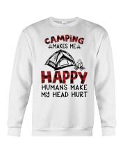 Camping Make Me Happy Crewneck Sweatshirt thumbnail