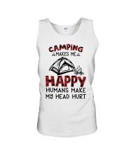 Camping Make Me Happy Unisex Tank thumbnail