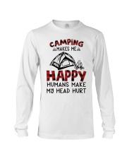 Camping Make Me Happy Long Sleeve Tee thumbnail