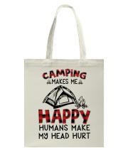 Camping Make Me Happy Tote Bag thumbnail