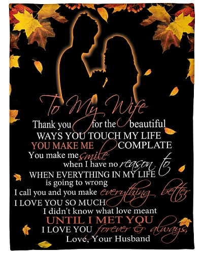 To My Wife Thank You For The Beautiful Ways