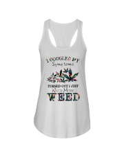 I Just Need More Weed Ladies Flowy Tank thumbnail