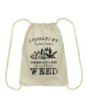 I Just Need More Weed Drawstring Bag thumbnail