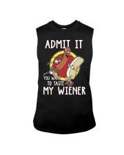 Admit It You Want To Taste My Wiener Sleeveless Tee thumbnail