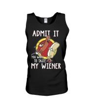 Admit It You Want To Taste My Wiener Unisex Tank thumbnail