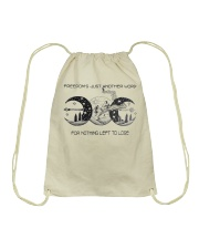 Freedom's Just Another Word 4 Nothing Left To Lose Drawstring Bag thumbnail