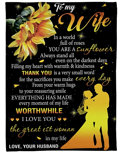 To My Wife In A World