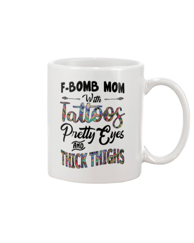 F-Bomb Mom With Tattoos Pretty Eyes n Thick Thighs