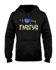 I Love Being Nana Hooded Sweatshirt thumbnail