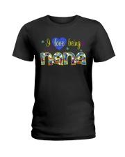 I Love Being Nana Ladies T-Shirt thumbnail