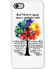And I Think To Myself What A Wonderful World Phone Case thumbnail