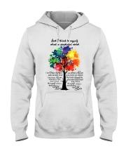 And I Think To Myself What A Wonderful World Hooded Sweatshirt thumbnail