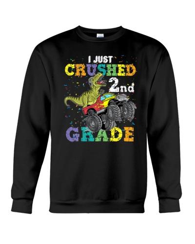 I'm Ready To Crush 2nd grade Dino Truck TC