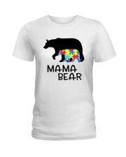 Mama Bear Ladies T-Shirt thumbnail