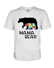 Mama Bear V-Neck T-Shirt thumbnail