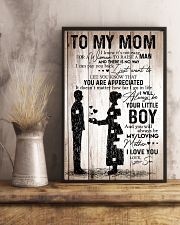 To My Mom - I Love You - Your Son 11x17 Poster lifestyle-poster-3