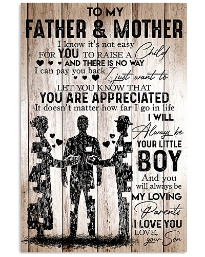 To My Father Mother - I Love You - Your Son