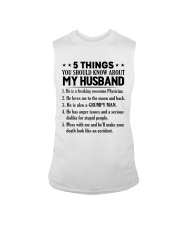 5 Things You Should Know About My Husband Sleeveless Tee thumbnail