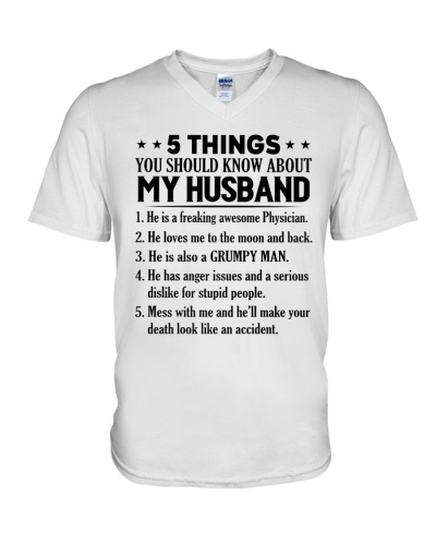 5 Things You Should Know About My Husband