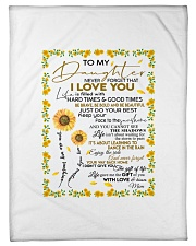"""To My Daughter Never Forget That I Love You Small Fleece Blanket - 30"""" x 40"""" front"""