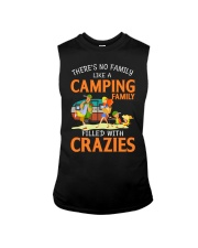 There's No Family Like A Camping Family Sleeveless Tee thumbnail