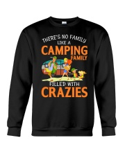 There's No Family Like A Camping Family Crewneck Sweatshirt thumbnail