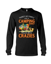 There's No Family Like A Camping Family Long Sleeve Tee thumbnail
