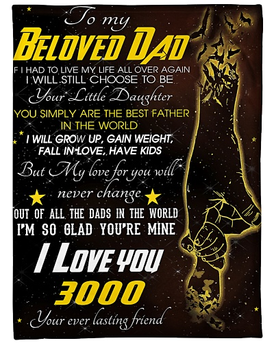 To My Beloved Dad I Love You 3000 2