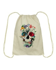 Skull Art 10 Drawstring Bag thumbnail