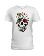 Skull Art 10 Ladies T-Shirt thumbnail