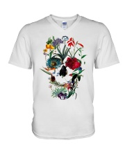 Skull Art 10 V-Neck T-Shirt thumbnail