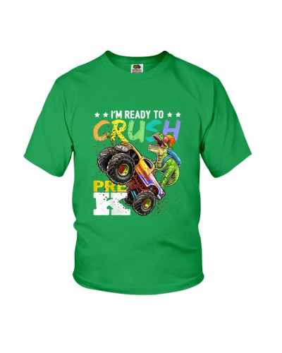 I'm Ready To Crush Pre K Truck T Rex TC