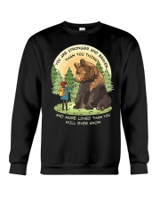 You Are Stronger And Braver Than You Think Crewneck Sweatshirt thumbnail