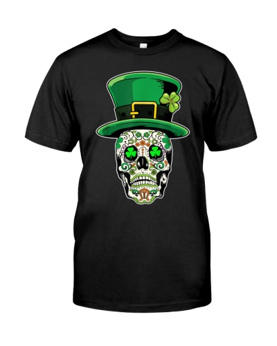 Sugar Skull St Patrick's Day