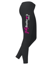 Crazy Camping Girl Ladies Leggings right